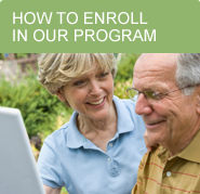 Learn how to enroll in our senior care services.